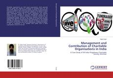 Capa do livro de Management and Contribution of Charitable Organisations in India