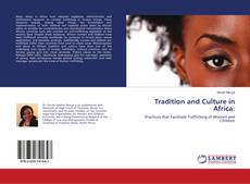 Bookcover of Tradition and Culture in Africa: