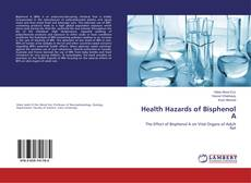 Buchcover von Health Hazards of Bisphenol A