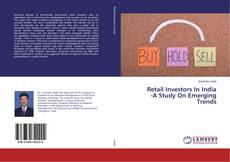 Buchcover von Retail Investors In India -A Study On Emerging Trends