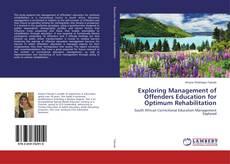 Exploring Management of Offenders Education for Optimum Rehabilitation kitap kapağı