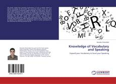 Capa do livro de Knowledge of Vocabulary and Speaking