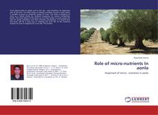 Bookcover of Role of micro-nutrients In aonla