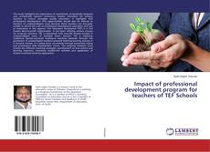 Couverture de Impact of professional development program for teachers of TEF Schools