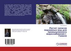 Bookcover of Расчет запасов подземных вод для промышленного водоснабжения г. Гомеля