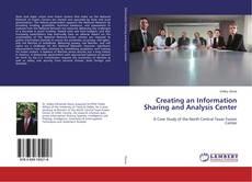 Capa do livro de Creating an Information Sharing and Analysis Center