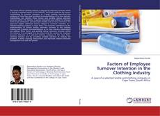 Bookcover of Factors of Employee Turnover Intention in the Clothing Industry