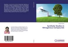 Bookcover of Synthetic Studies in Nitrogenous Compounds