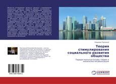 Теория стимулирования социального развития общества的封面