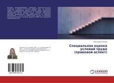 Bookcover of Специальная оценка условий труда (правовой аспект)
