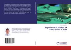 Bookcover of Experimental Models of Pancreatitis in Rats