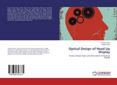 Portada del libro de Optical Design of Head Up Display