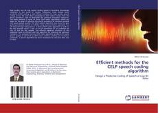 Borítókép a  Efficient methods for the CELP speech coding algorithm - hoz