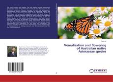Bookcover of Vernalization and flowering of Australian native Asteraceae species
