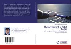 Capa do livro de Human Element in Retail Sector