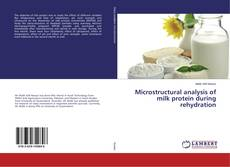 Capa do livro de Microstructural analysis of milk protein during rehydration