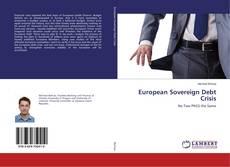 Bookcover of European Sovereign Debt Crisis