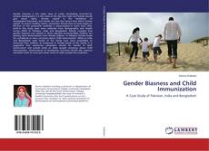 Buchcover von Gender Biasness and Child Immunization