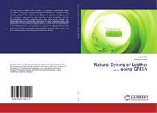 Natural Dyeing of Leather …. going GREEN kitap kapağı