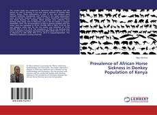 Copertina di Prevalence of African Horse Sickness in Donkey Population of Kenya