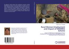 Bookcover of Rural Women Employment and Impact of MGNREG Scheme