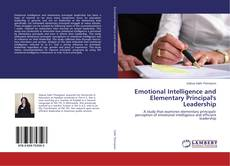Copertina di Emotional Intelligence and Elementary Principal's Leadership
