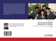 Bookcover of Financing of Higher Education in Punjab