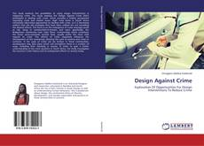 Capa do livro de Design Against Crime