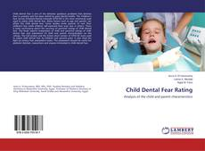 Bookcover of Child Dental Fear Rating
