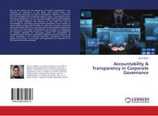 Capa do livro de Accountability & Transparency in Corporate Governance