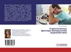 Стрессогенные факторы белорусской журналистики的封面