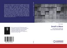 Bookcover of Small is More