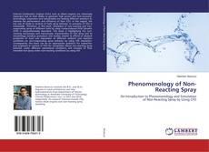 Capa do livro de Phenomenology of Non-Reacting Spray