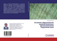 Bookcover of Условия образования шеелитоносных метасоматитов Таджикистана