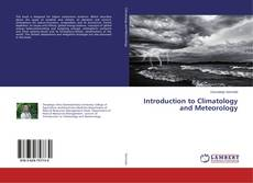 Bookcover of Introduction to Climatology and Meteorology