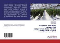 Bookcover of Влияние режимов питания на продуктивность томата в закрытом грунте