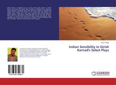 Bookcover of Indian Sensibility in Girish Karnad's Select Plays