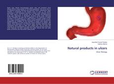Couverture de Natural products in ulcers