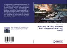 Bookcover of Hydraulic of Shatt Al-Basrah canal using one dimentional model