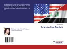 American-Iraqi Relations的封面