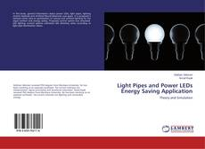 Bookcover of Light Pipes and Power LEDs Energy Saving Application