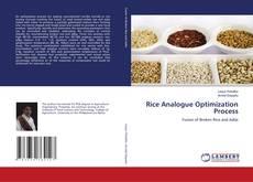 Buchcover von Rice Analogue Optimization Process