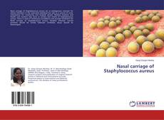 Bookcover of Nasal carriage of Staphylococcus aureus