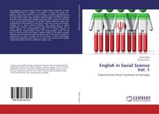 Bookcover of English in Social Science Vol. 1