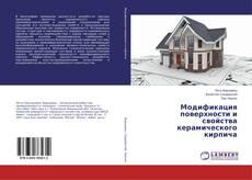 Bookcover of Модификация поверхности и свойства керамического кирпича