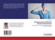 Bookcover of Performance of Women Microentrepreneurs