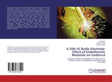 Buchcover von E-308-16 Rutile Electrode: Effect of Endothermic Materials on Undercut