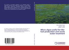 Bookcover of Micro algae useful for Bio-fuel production and waste water treatment