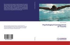 Capa do livro de Psychological Consequences of Trauma