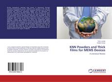 Buchcover von KNN Powders and Thick Films for MEMS Devices
